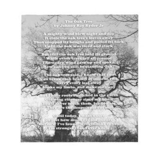 Oak Tree Notepad