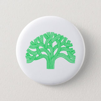 Oak tree Oakland lime 2 Inch Round Button