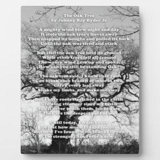 Oak Tree Plaque