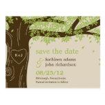 Oak Tree Save The Date Postcard