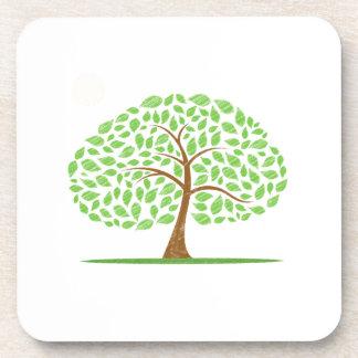oak tree scribbled ecology design.png coaster