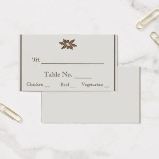 Oak Tree Sketch Wedding Place Cards