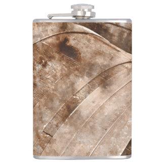 Oak Wine Barrel Flask