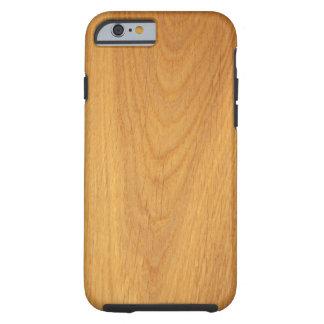 Oak wood grain texture iPhone 6 case