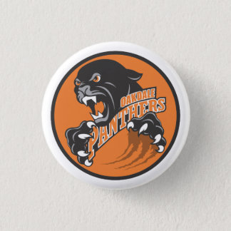 Oakdale Panthers Logo Button