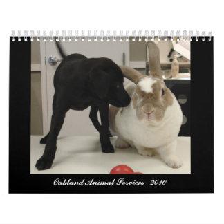 Oakland Animal Services - 2010 Wall Calendar