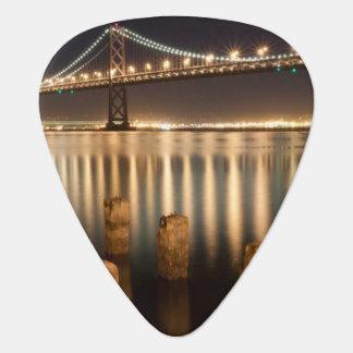 Oakland Bay Bridge night reflections. Pick