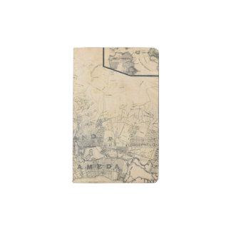 Oakland, Berkeley, Alameda Pocket Moleskine Notebook
