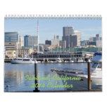 Oakland California 2014 Wall Calendar