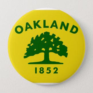 Oakland, California 4 Inch Round Button