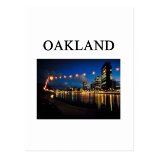OAKLAND california Postcard