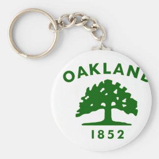 Oakland Flag1852 Keychain