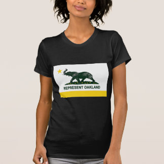 Oakland Flag dark (athletics) T-Shirt