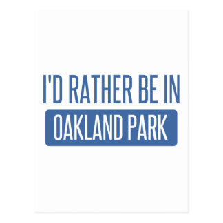 Oakland Park Postcard