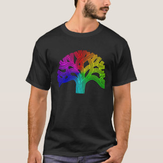 Oakland Pride  Rainbow Tree T-Shirt