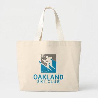 Oakland Ski Club Large Tote Bag