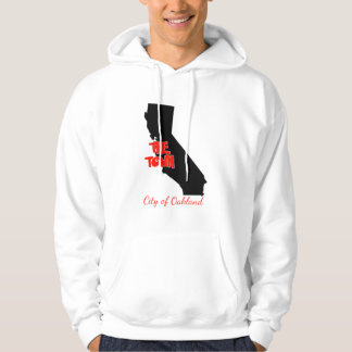 """Oakland """"The Town"""" Golden State Hooded Sweater"""