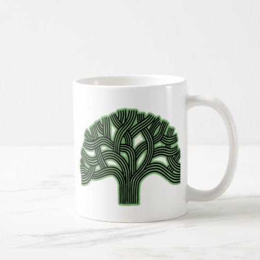 Oakland Tree Green Haze Coffee Mug