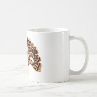 Oakland Tree Orange Haze Classic White Coffee Mug