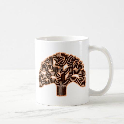 Oakland Tree Orange Haze Coffee Mugs