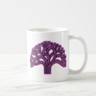 Oakland Tree Pink Haze Coffee Mug