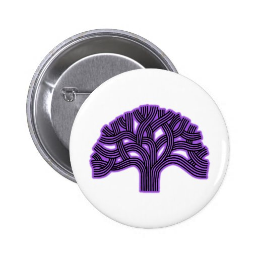 Oakland Tree Purple Haze Pin
