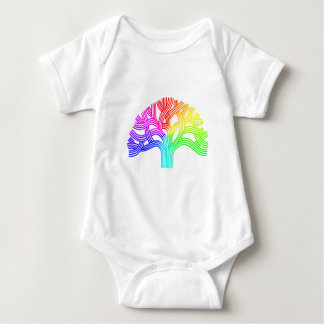 Oakland Tree Rainbow Baby Bodysuit