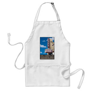 Oaks Theater on Solano Avenue in Berkeley, CA Standard Apron