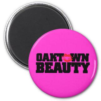Oaktown Beauty Magnet