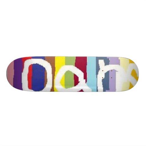 oans custom skate board