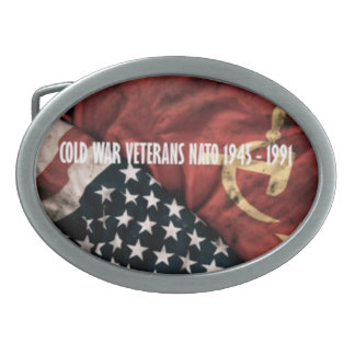 Oar loop Cold War Veterans Belt Buckles