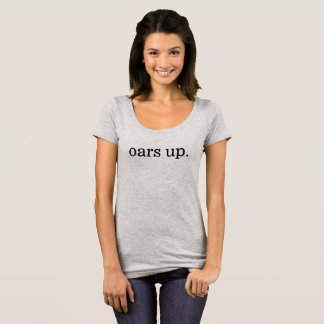 oars up. tee: women scoop neck T-Shirt
