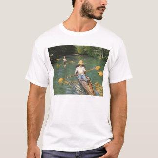 Oarsmen by Gustave Caillebotte, Vintage Fine Art T-Shirt