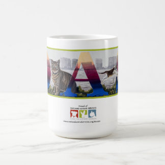 OAS Cats on Lake Merritt Mural Coffee Mug