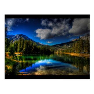 Oasis alpine carte postale