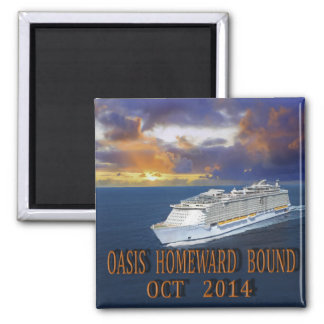OASIS HOMEWARD BOUND MAGNET