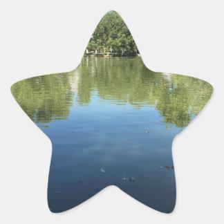 Oasis in the desert star sticker