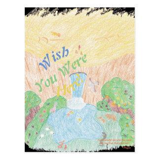 Oasis Postcard