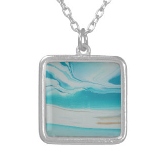Oasis Silver Plated Necklace