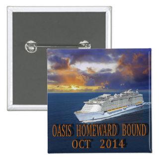 Oasis TA Oct 2014 2 Inch Square Button