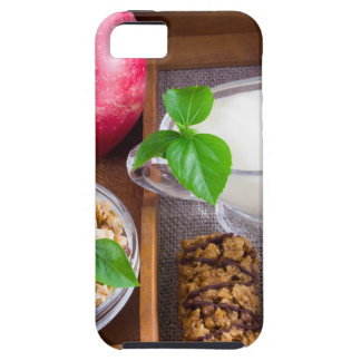 Oat cereal with nuts and raisins iPhone 5 case
