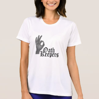 Oath Keepers Black and White T-Shirt