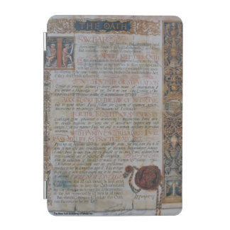 Oath of Hippocrates iPad Mini Cover