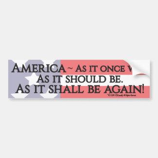 Oath of the Deplorables! Bumper Sticker