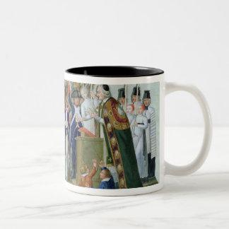 Oath of the Districts, February 1790 Two-Tone Coffee Mug