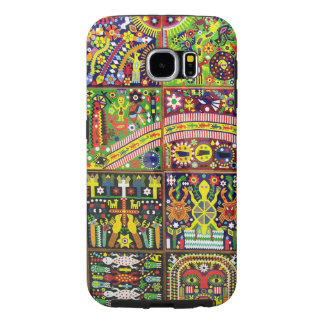 Oaxaca Mexico Mexican Mayan Tribal Art Boho Travel Samsung Galaxy S6 Cases