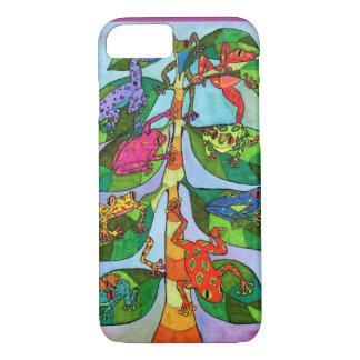 Oaxacan Frog Tree of Life iPhone 7 Case