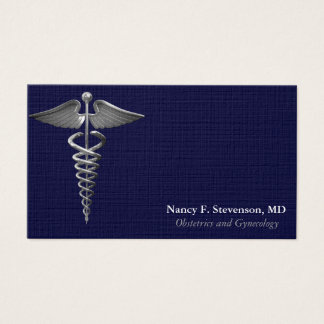 OB-GYN Business Card Sample