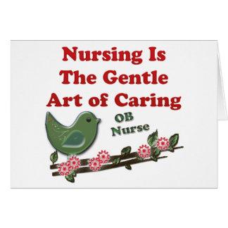 OB Nurse Greeting Card