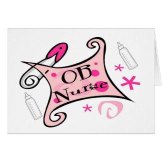 OB nurse (obstetrics) Nursing Cards